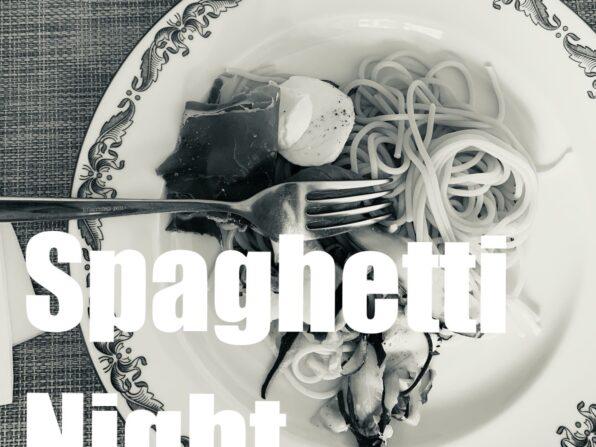 En tallrik spagetti